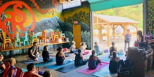 Yoga at Strange Roots Brewery