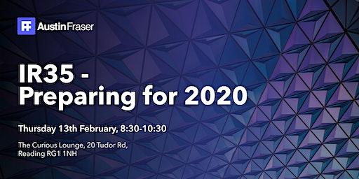 IR35 - Preparing for 2020