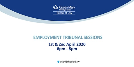 Employment Tribunal Sessions tickets