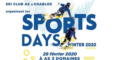 Sports Days - Ax 3 Domaines