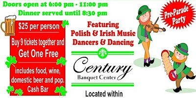 15th Annual St. Patrick & St. Joseph Party