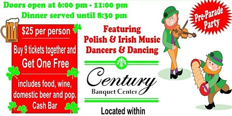 15th Annual St. Patrick & St. Joseph Party tickets