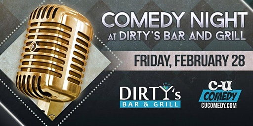 Comedy Night at Dirty's Bar & Grill