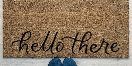 Make and take your own hand lettered doormat to add to your home  tickets