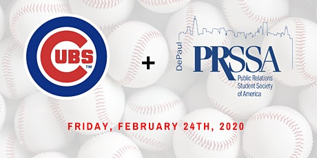 DePaul PRSSA - Chicago Cubs Site Visit tickets