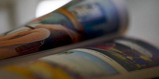 Darllen Comics mewn Amser / Reading Comics in Time