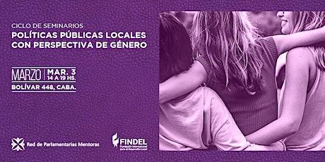 Políticas públicas locales con perspectiva de género entradas