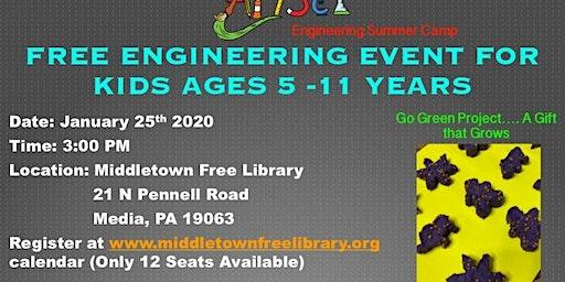 ArtSci Kids Engineering Event