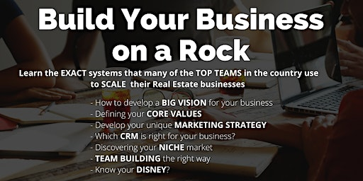 Build Your Business on a Rock