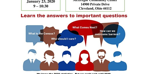 Be Counted ! A Community Conversation about the US Census!