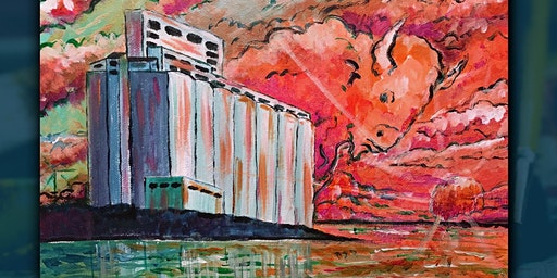 "Buffalo Sunset Paint Night ""Grain Elevators"""
