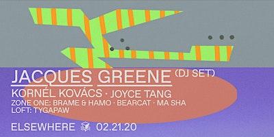 Jacques Greene (DJ Set), Kornél Kovács, Joyce Ta