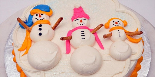 Snowman Cake Decorating Class January 27, 2020