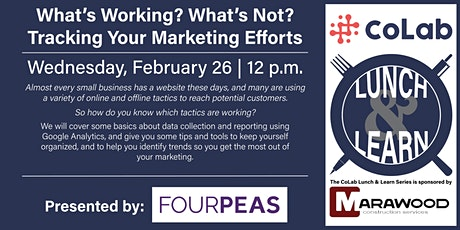What's Working? What's Not? Tracking Your Marketing Efforts tickets