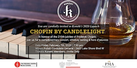 Chopin By Candle & Whiskey Tasting (Konekt Members Only) tickets
