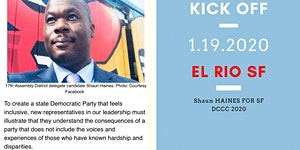 Shaun Haines for SF DCCC Kick Off