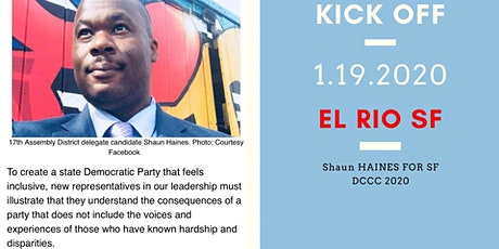 Shaun Haines for SF DCCC Kick Off tickets