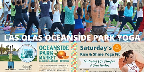 Las Olas Oceanside Park Yoga Fit by Donation + Farmers Market tickets
