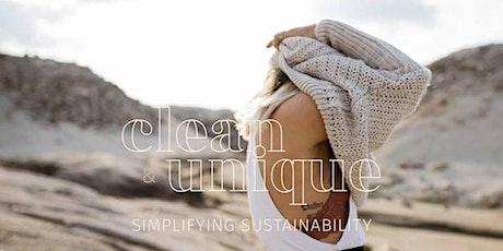 Factory Tour Duurzame Productie bedrijven. Clean&Unique tickets