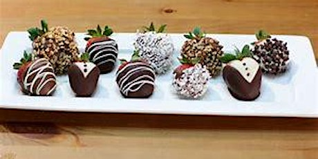 UBS Cooking School: Chocolate Covered Strawberries tickets