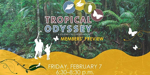 DMNH Members' Preview Party: Tropical Odyssey