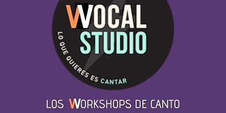 Workshop Canto Moderno entradas
