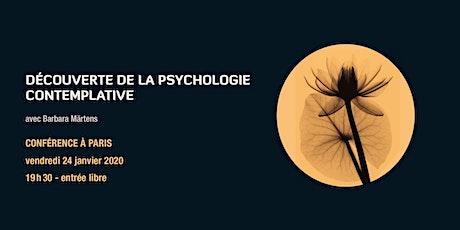 Découverte de la psychologie contemplative billets