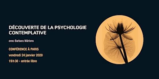 Découverte de la psychologie contemplative