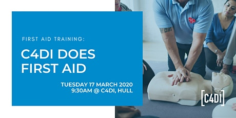 C4DI Does First Aid - First Aid Training Course tickets