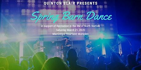 Quinton Blair's Spring Barn Dance tickets