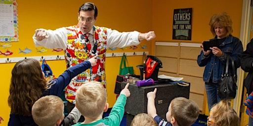 Torigian Family YMCA Hosts Magician Steven Craig