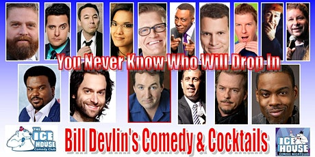 Bill Devlin's Comedy & Cocktails Limited Free Tickets available NOW tickets