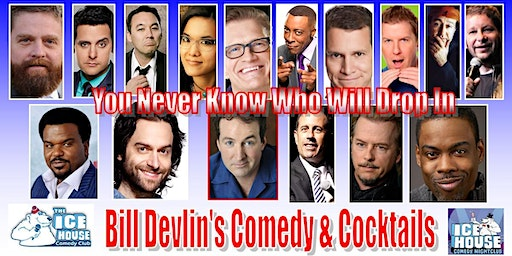 Bill Devlin's Comedy & Cocktails Limited Free Tickets available NOW