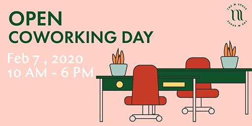 Open Co-Working Day at The M Space: Come Make Magic With Us!