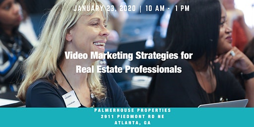 (3 Hour CE) Video Marketing Strategies for Real Estate Professionals