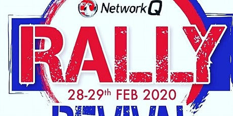 Network Q Rally Revival Ceremonial Start tickets