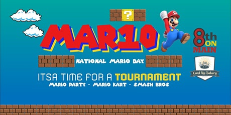 Mario Day Pizza Party tickets