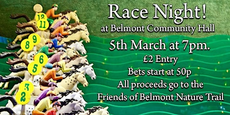 Friends of Belmont Nature Trail - Race Night tickets