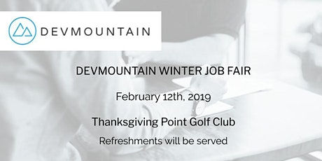 DevMountain's Winter Job Fair-Employer Sign Up tickets