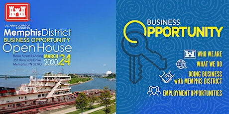 US Army Corps of Engineers Memphis - Business Opportunity Open House tickets