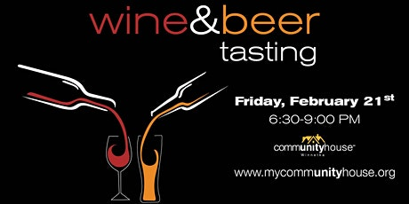 2020 Wine & Beer Tasting at the Community House tickets