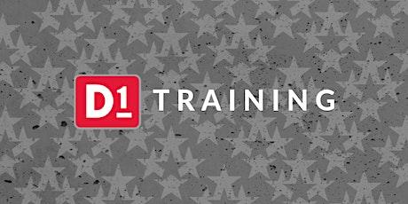 D1 Operator Training - February tickets