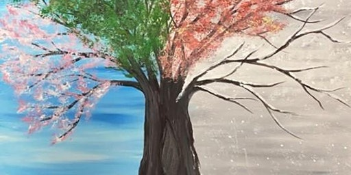 Recovery Celebration in Titusville Painting Party Fundraiswer