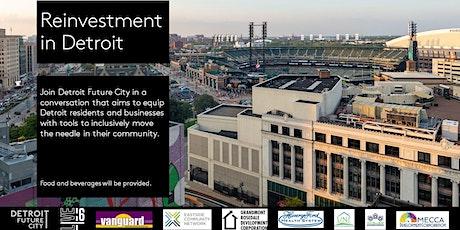 Reinvestment in Detroit- Southwest SPA tickets
