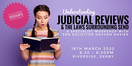 Judicial Reviews & The Law tickets