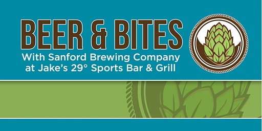 Beers & Bites with Sanford Brewing Company