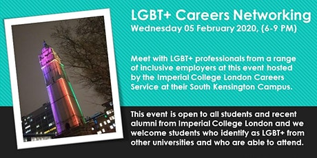 LGBT+ Careers Networking tickets