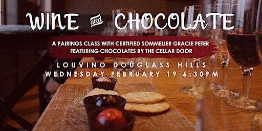 LouVino Douglass Hills Wine Class: Wine & Chocolates Pairings