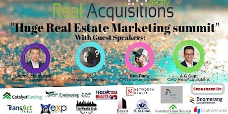 """Huge Real Estate Marketing summit""-2020 tickets"