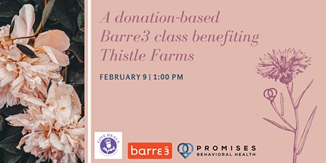 Celebrate Promise Week with Barre3 tickets